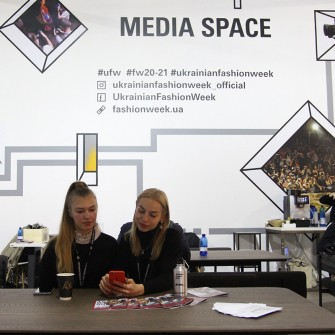 Media space на Ukrainian Fashion Week FW20-21
