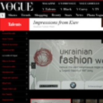 Andrea Deanesi для Vogue.it про Ukrainian Fashion Week
