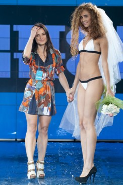 Наталя ХРИСТИЧ для Kitch Bitch swimwear HFW 2011