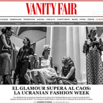 Vanity Fair Spain про Ukrainian Fashion Week