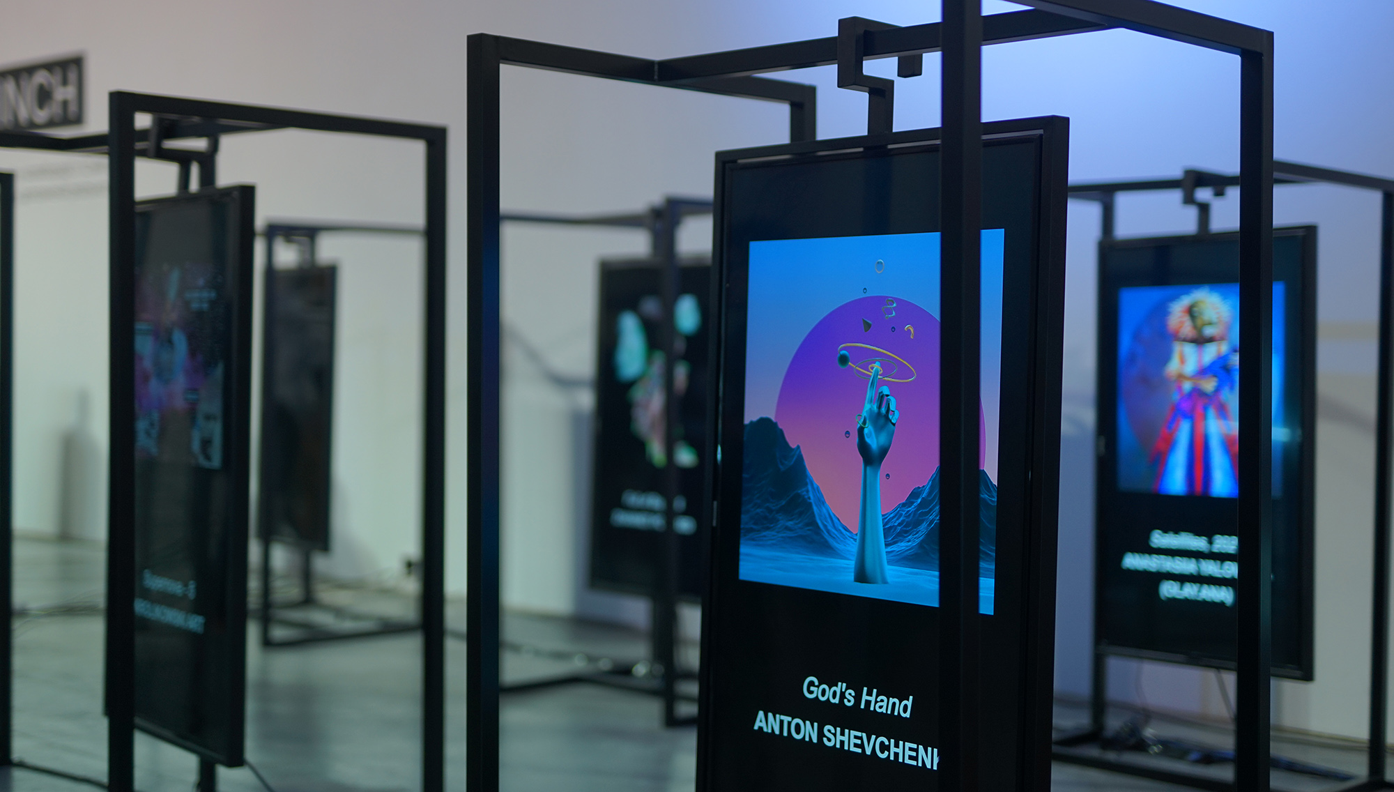Exhibition of Digital and Crypto Art FRAMELESS